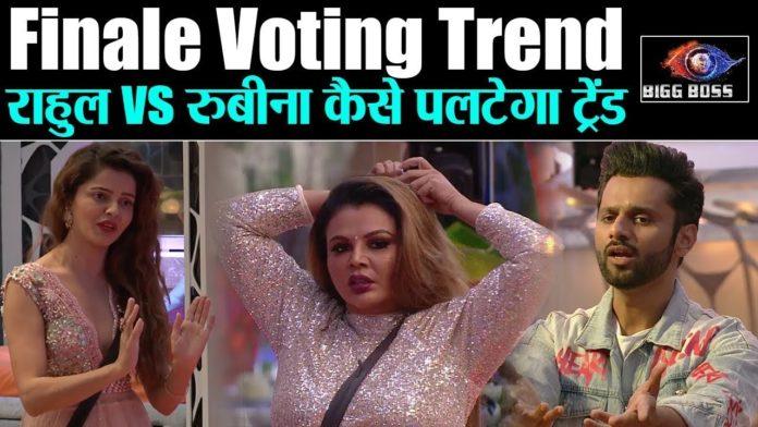 Bigg Boss Finale Voting Trend