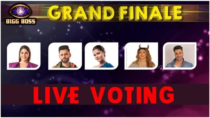 Bigg Boss 14 Finale Live Voting