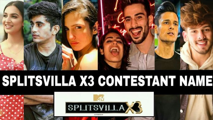 Splitsvilla X3 contestants list