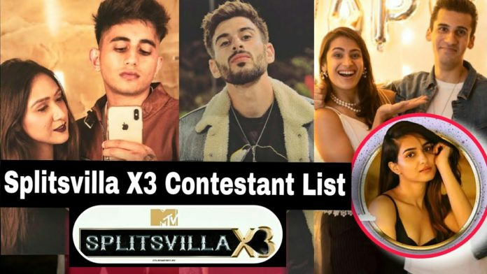 Splitsvilla x3 contestants list confirmed 2021