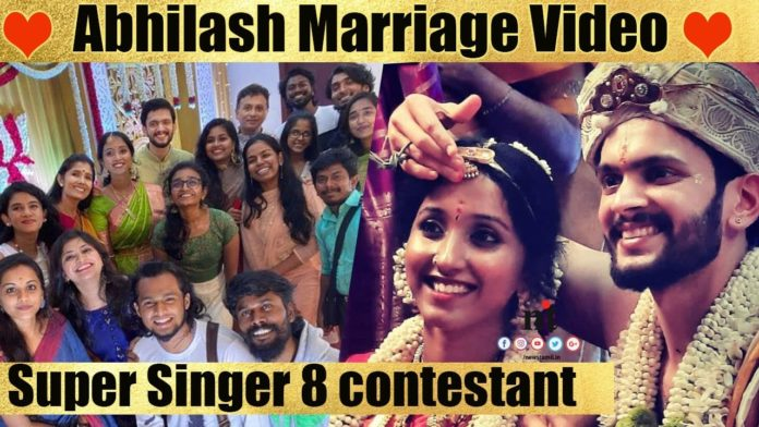 Super Singer 8 Abhilash marriage