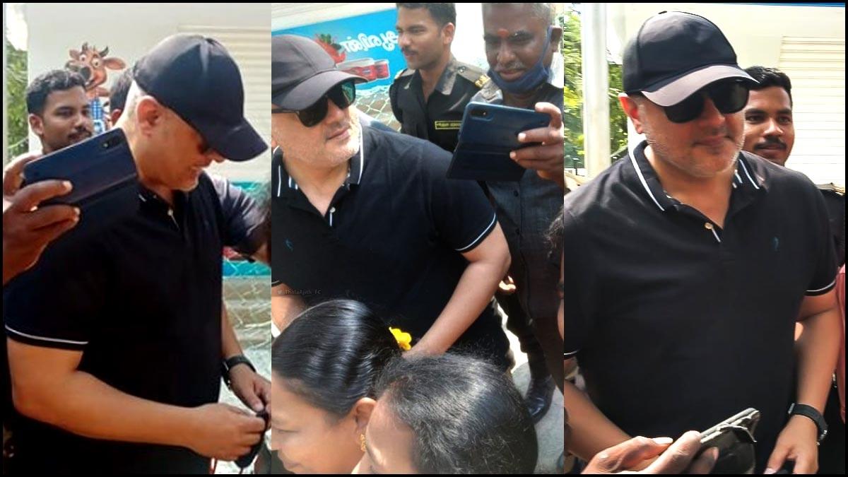 Thala Ajith Police comissioner visit