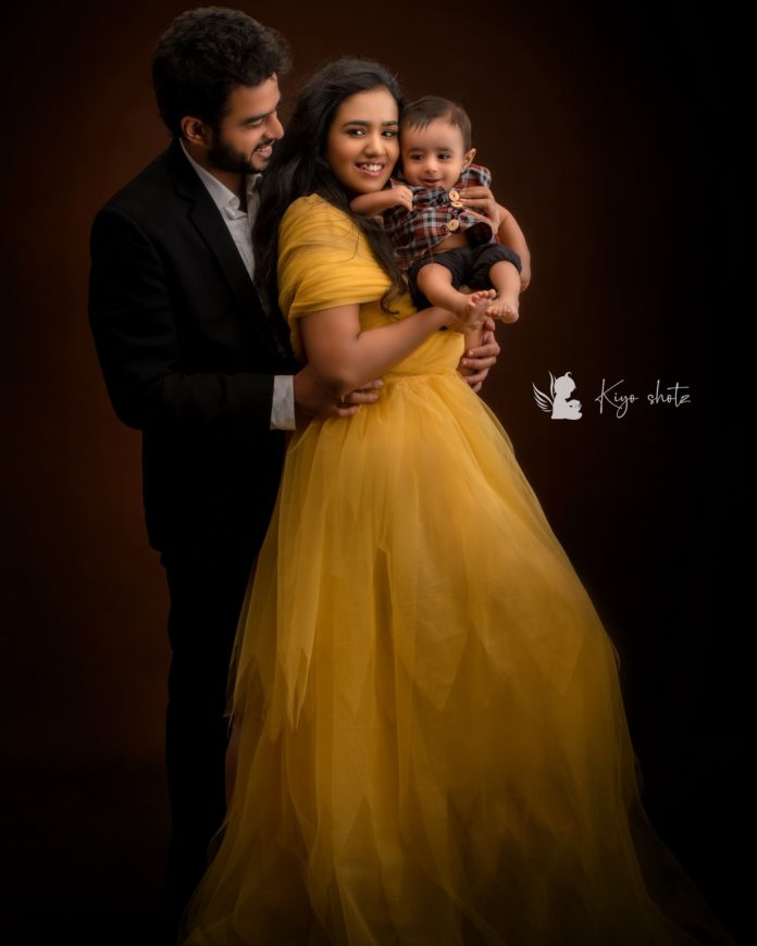 VJ Vijay family