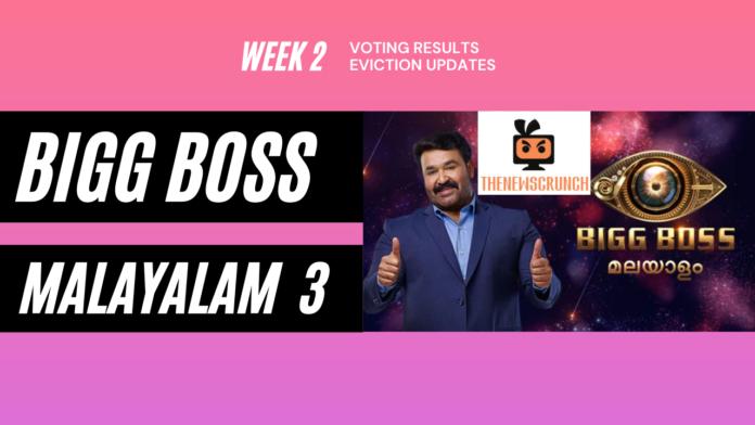 bigg boss malayalam 3 week 2 vote