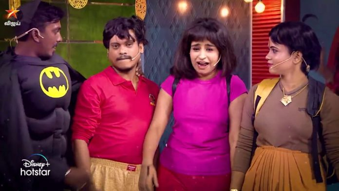cooku with comali 2 14th february episode highlights valentines day special