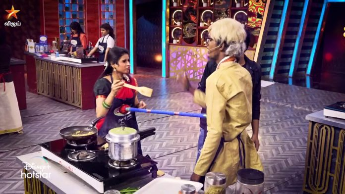 cooku with comali 2 21st february episode highlights
