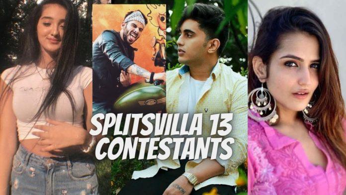 splitsvilla x3 contestants list confirmed