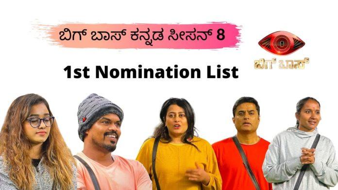 Bigg Bosss Kannada 8 Week 1 Vote