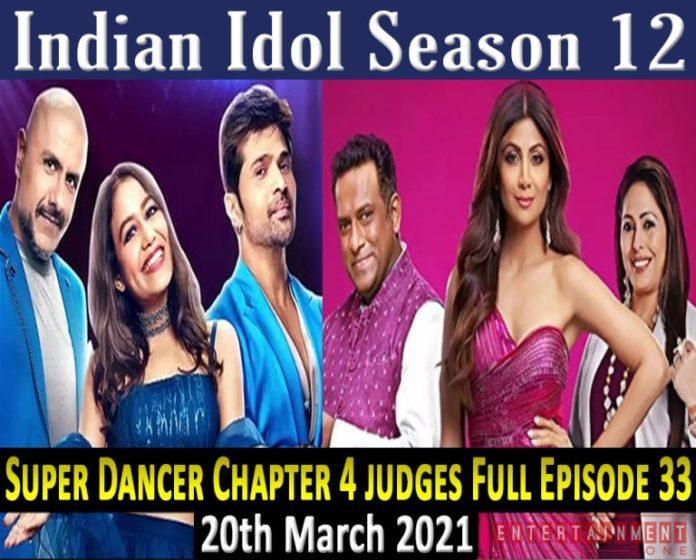 Indian-Idol-Season-12-elimination-21st-March-2021-Super-Dancer-Chapter-4