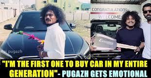 Pugazh new car