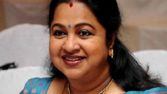 Radhika SarathKumar Velachery Constituency