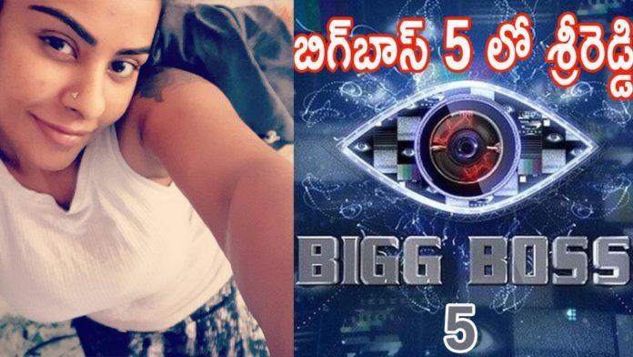 Sri Reddy Bigg Boss 5