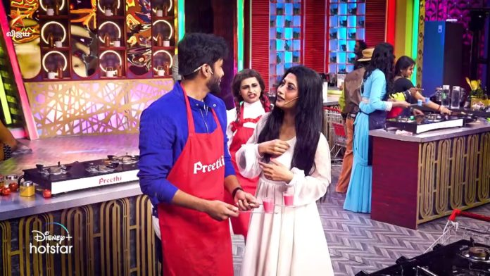 cook with comali 2 7th march episode immunity task winner