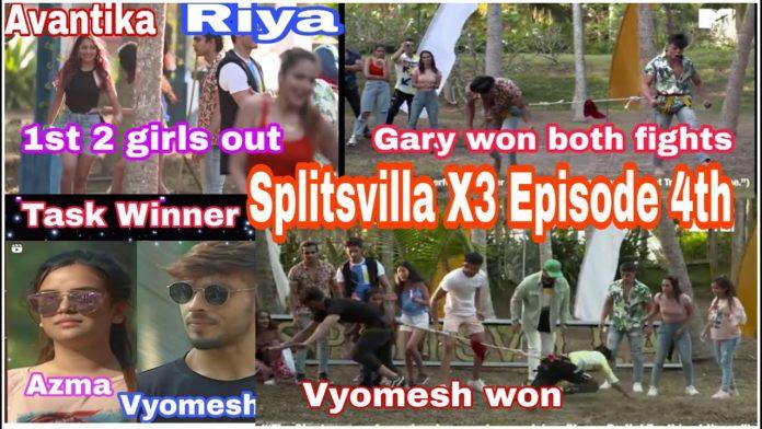 splitsvilla x3 episode 3 27th march silver connection winner elimination