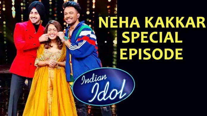 Neha Kakkar indian idol 12 episode