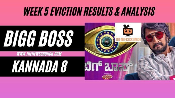 Bigg Boss kannada 8 eviction vote results week 5