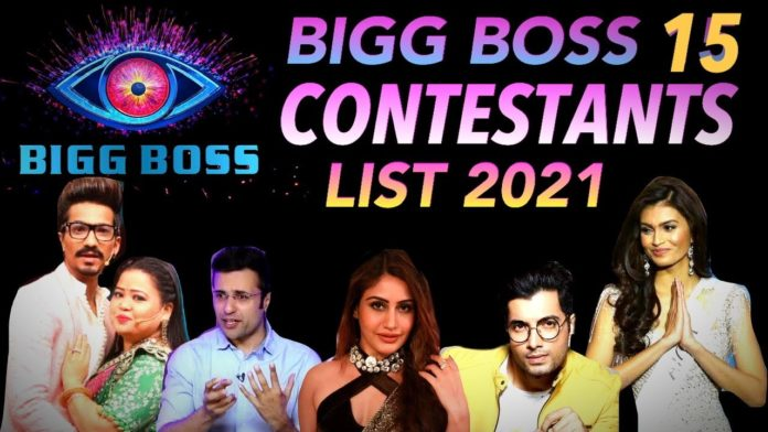 Bigg Boss 15 Contestants and start date