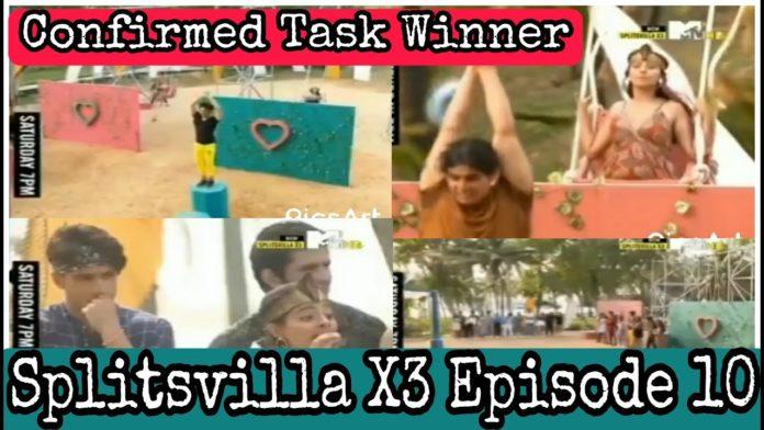 Splitsvilla X3 episode 10 task winner vote out elimination this week