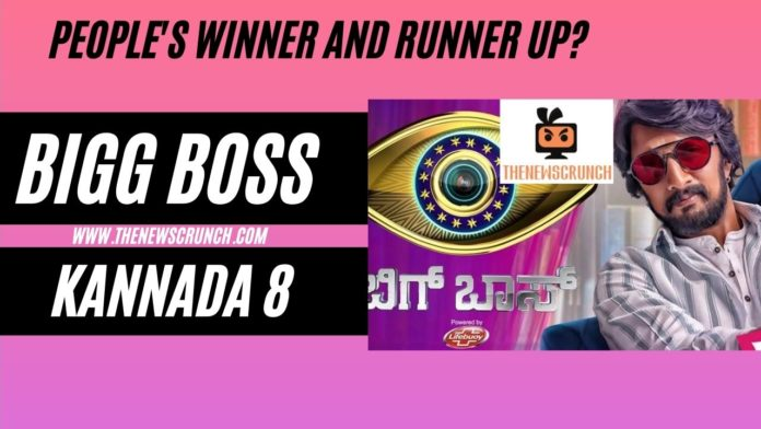 bigg boss kannada 8 winner and runner up