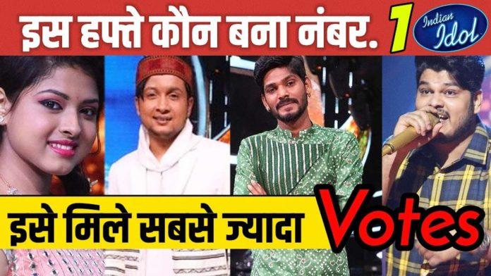 indian idol 12 online voting seventh elimination
