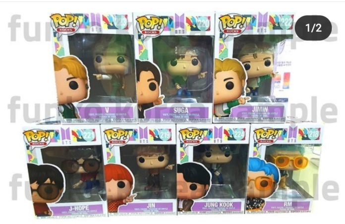 BTS dynamite funko pops release date and price