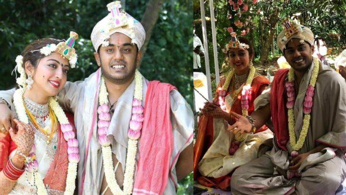 Pranitha Subhashi Nitin Raju marriage