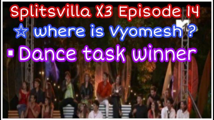 Splitsvilla X3 episode 14 silver connection challenge task winner
