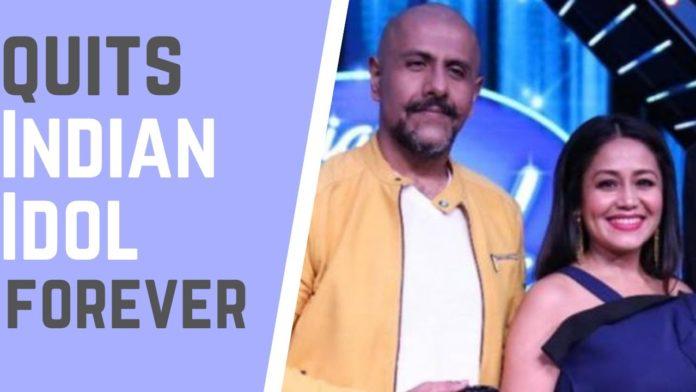 Vidhal Dadlani quits indian idol 12