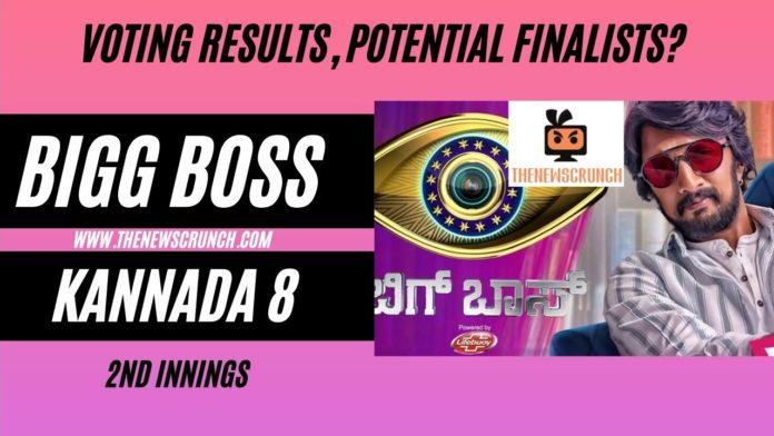 bigg boss kannada 8 vote results 30th june