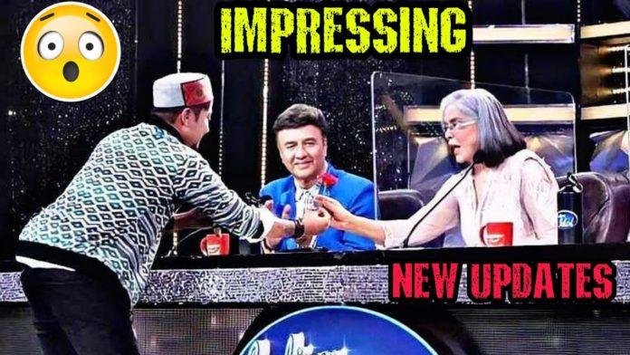 Zeenat Aman Pawandeep Indian Idol 12