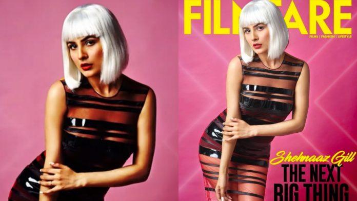 Shehnaaz Gill Filmfare cover