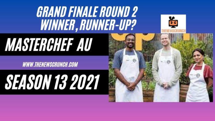 masterchef australia season 13 2021 grand finale winner, runner up