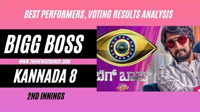 bigg boss kannada 8 vote results 30th july