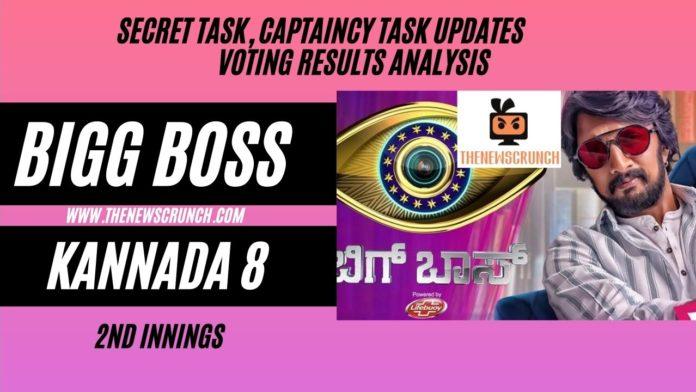 bigg boss kannada 8 vote results 7th june