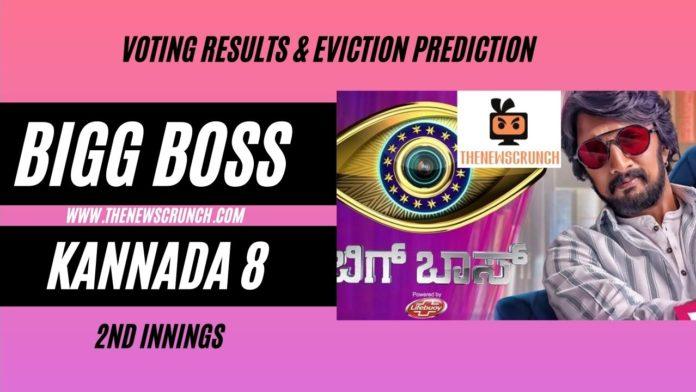 bigg boss kannada 8 vote results elimination
