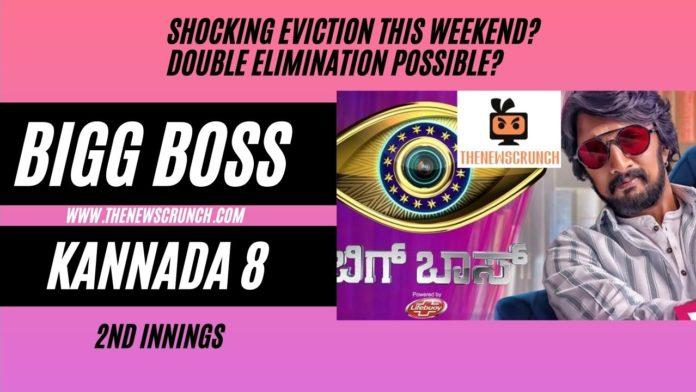 bigg boss kannada 8 elimination this week