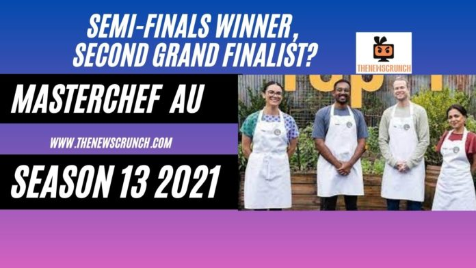 masterchef australia season 13 2021 semi-finals winner, second finalist