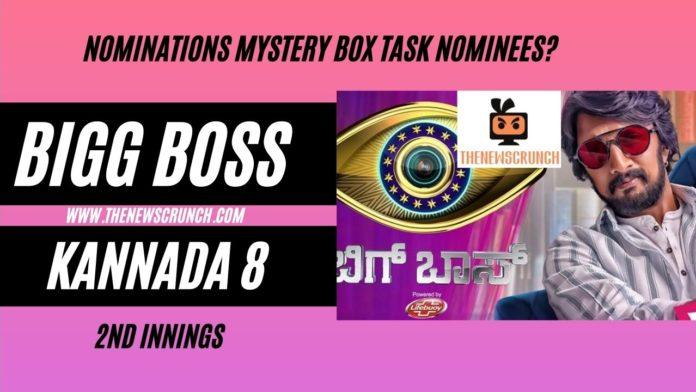 bigg boss kannada 8 nominations list this week
