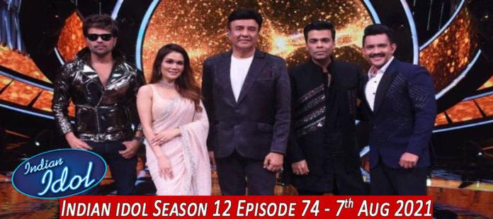 Indian-Idol-Season-12-elimination-7th-8th-august-2021-episode