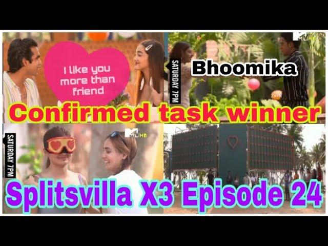 Splitsvilla X3 episode 24 task winner vote out elimination this week