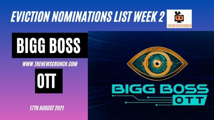bigg boss ott nominations list week 2 voting