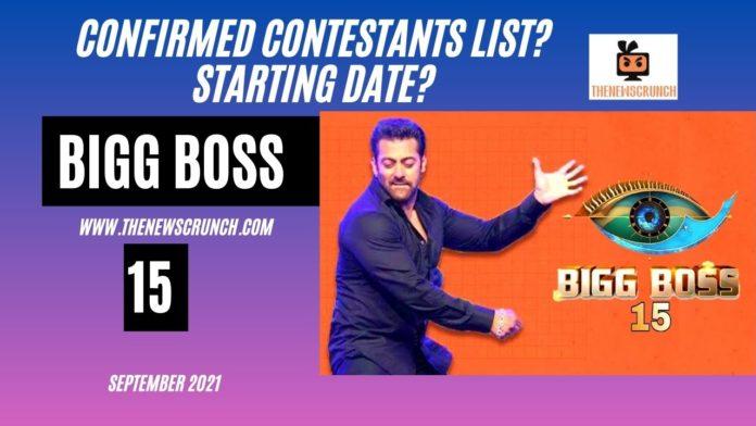 bigg boss 15 contestants list with photos