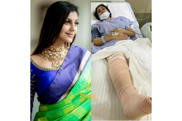 Yashika Anand Surgery photos