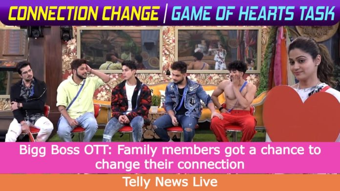 bigg boss ott 24th august game of hearts task new connections