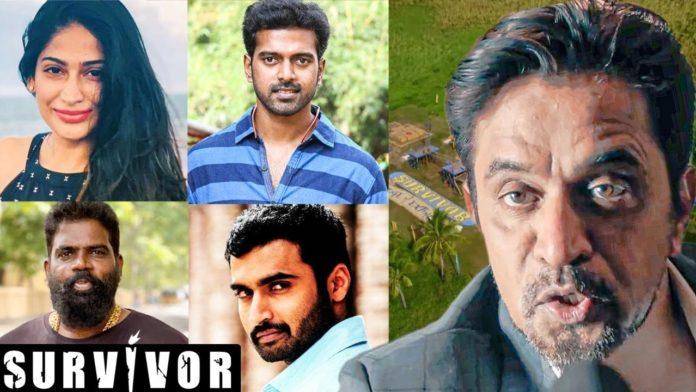 survivor tamil contestants list with photos zee
