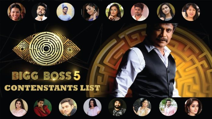 BB5 Telugu contestants update