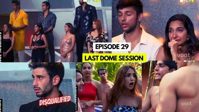 Splitsvilla 13 episode 29 elimination ideal match dome session vote out