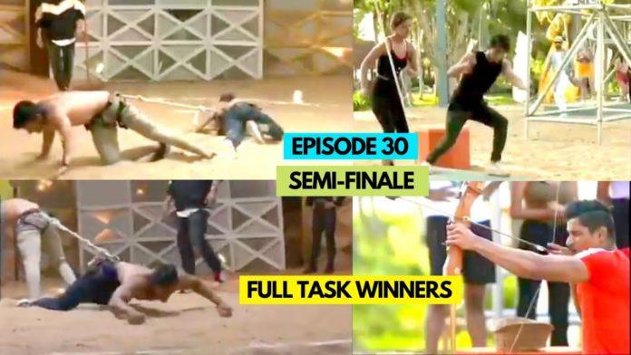 Splitsvilla 13 episode 30 semi finale task winner elimination finalists