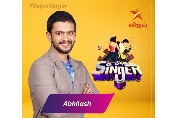 Super Singer 8 Finalists Abhilash