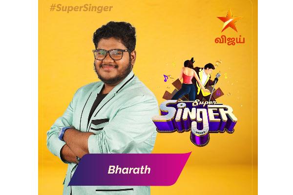 Super Singer 8 Finalists Bharath